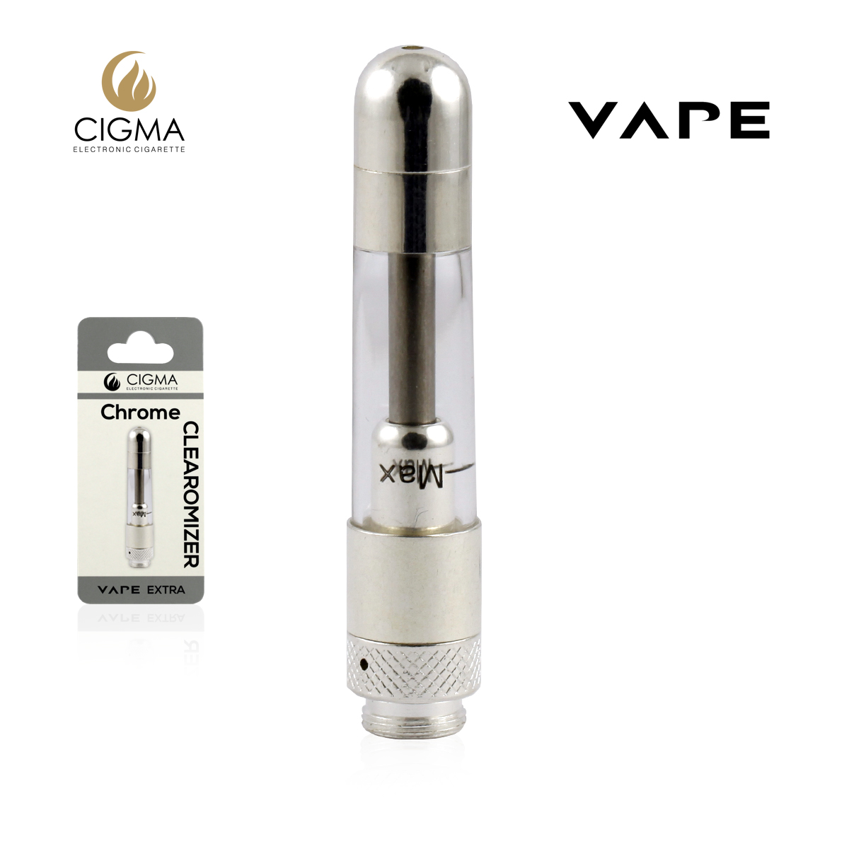 Vape Clearomizer Extra Chrome