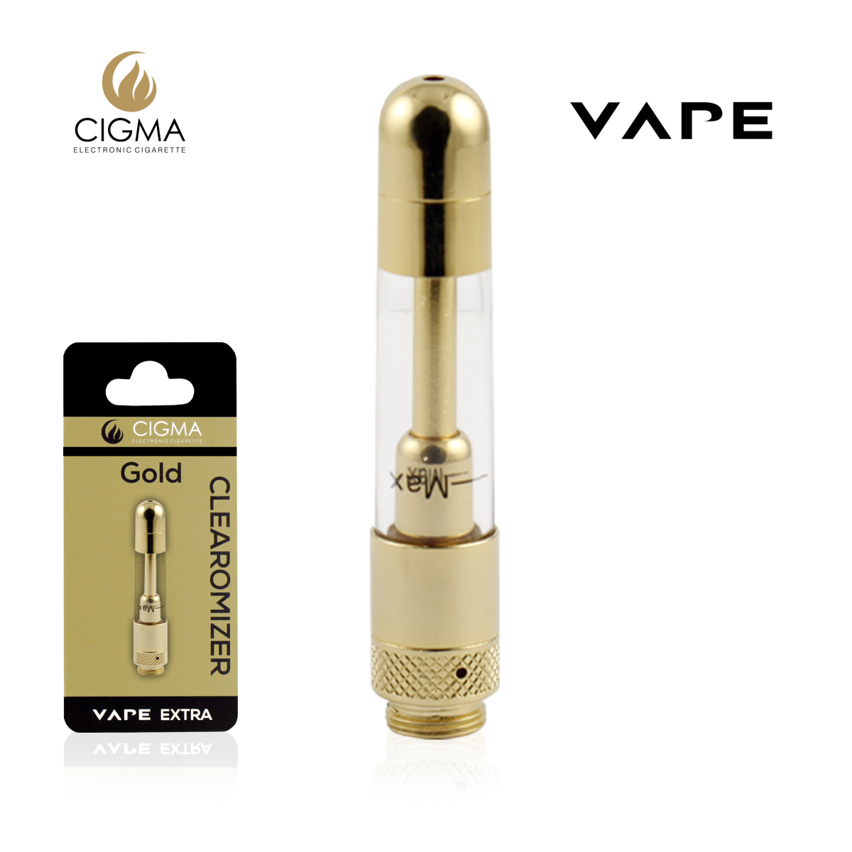 Vape Clearomizer Extra Gold