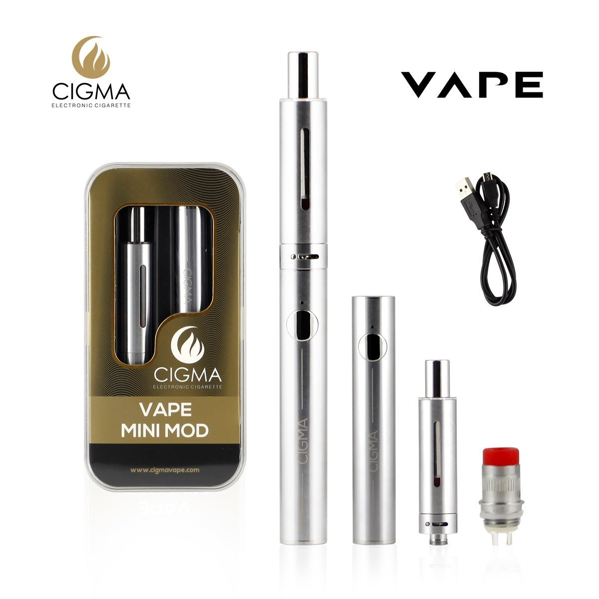 Cigma Mini Mod Vaping Kit Cigma Vape Deutschland